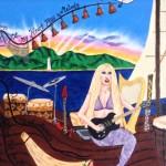 She  who set me on the seas and  encouraged me to write music again.