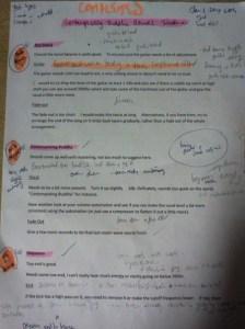 Pre master revisions